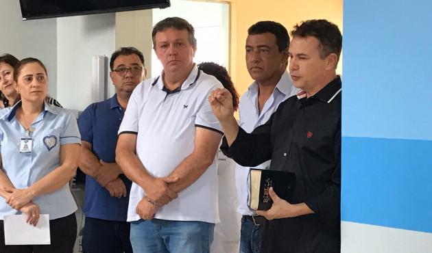 Por meio de doações Pronto Socorro da Santa Casa de Venceslau é reformado