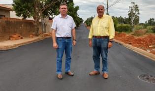 Obra de pavimentação da Rua Adolfo de Oliveira Lima é concluída