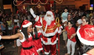 Chegada do Papai Noel será nesta segunda em Presidente Venceslau