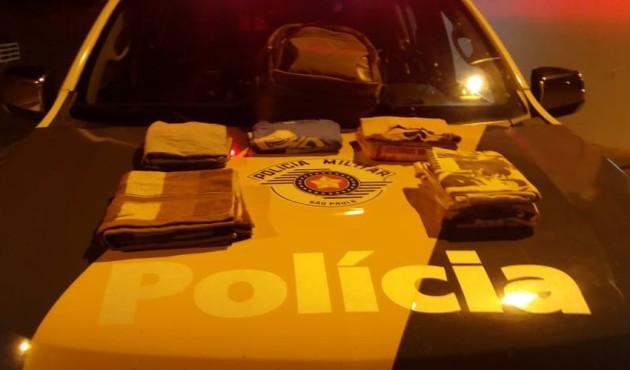 Homem é preso em flagrante com roupas impregnadas de cocaína durante abordagem em Venceslau