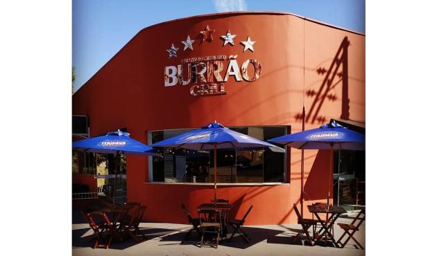 Bar do Burrão atende temporariamente no Burrão Grill