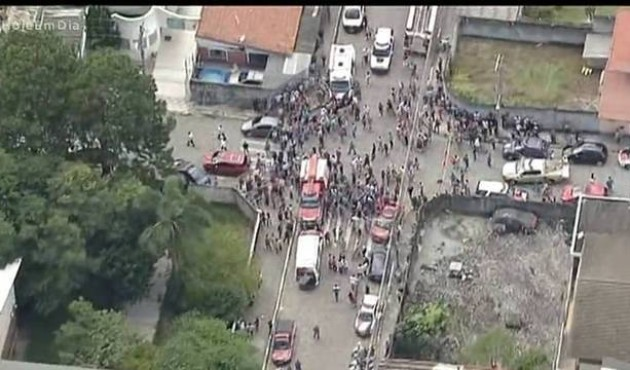 Atiradores invadem escola, deixam 8 mortos e tiram a própria vida em Suzano