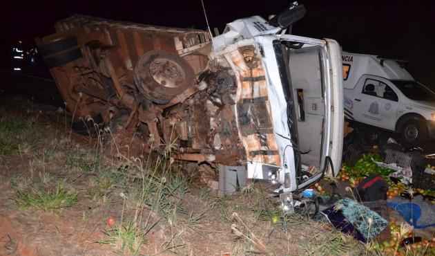 Mulher vítima de acidente em Parapuã segue na UTI