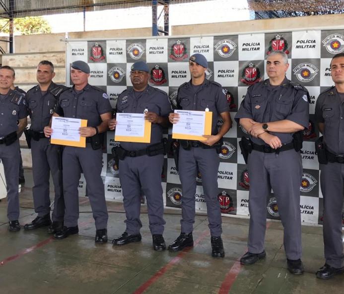 Polícia Militar entrega honrarias em solenidade de valorização em Venceslau