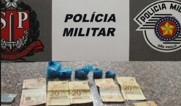 Homem é preso com drogas e dinheiro do tráfico em Venceslau