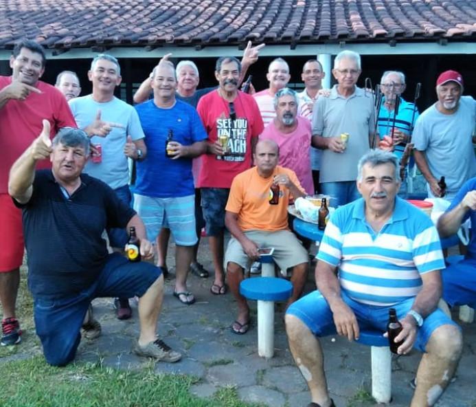 Veteranos do 42º BPMI realizam confraternização em Venceslau