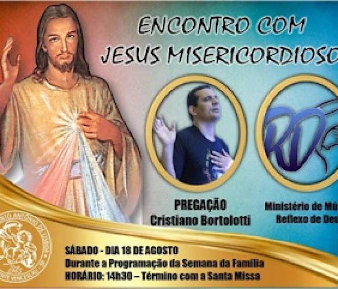 Paróquia em Venceslau promove Encontro com Jesus Misericordioso