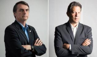 Ibope: Bolsonaro abre 18 pontos de vantagem sobre Haddad