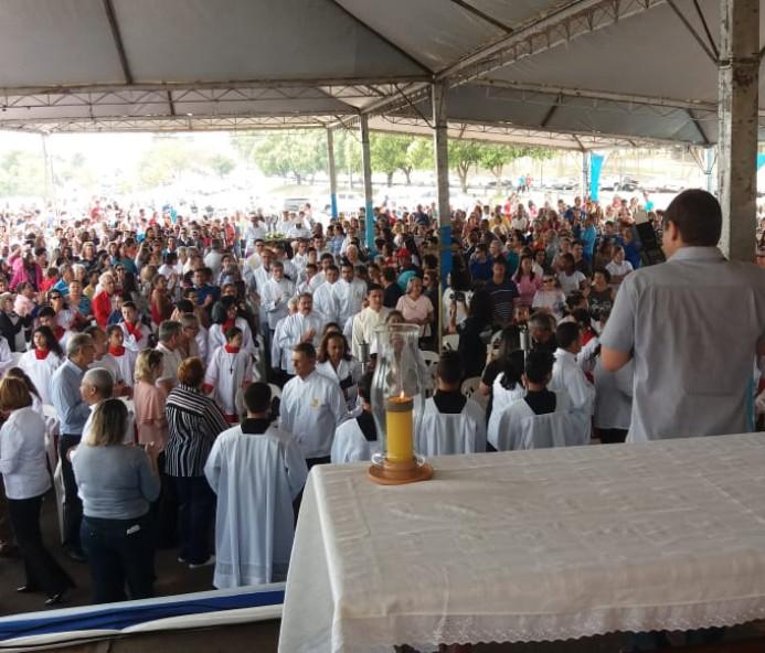 """Celebração homenageou """"Nossa Senhora dos Navegantes"""" em Presidente Epitácio"""