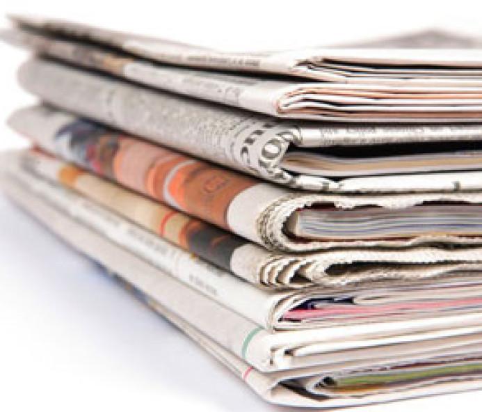 Manchetes desta quinta-feira dos jornais