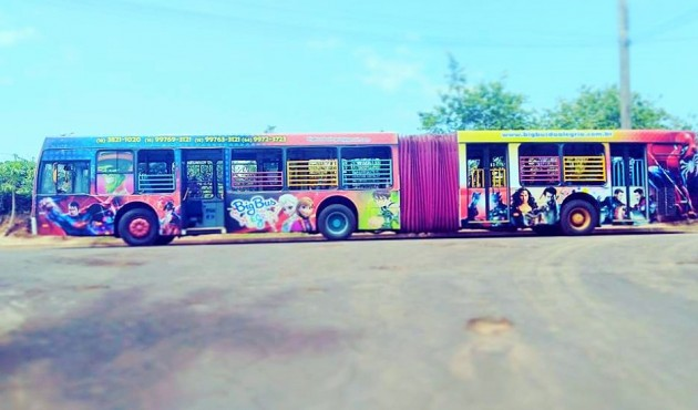 Big Bus da Alegria está em curta temporada em Venceslau