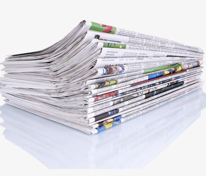 Manchetes dos jornais de hoje