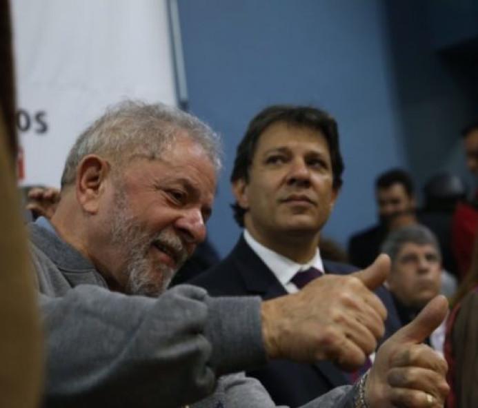 Haddad diz que não vai conceder indulto a Lula caso seja eleito