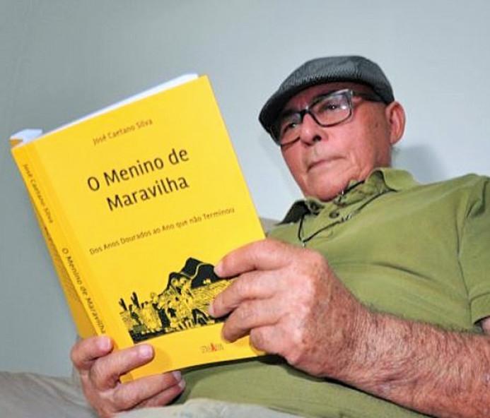 Professor Caetano lança livro nesta quinta-feira em Venceslau