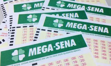 Mega-Sena acumula prêmio em R$ 43,5 milhões