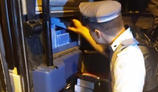 Fiscalização apreende aparelhos eletrônicos sem nota fiscal em ônibus na base de Venceslau