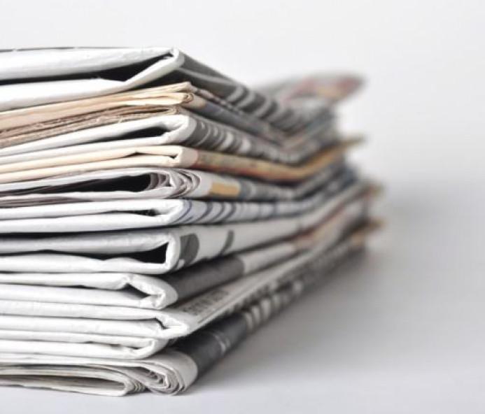 Veja as manchetes dos principais jornais desta sexta-feira