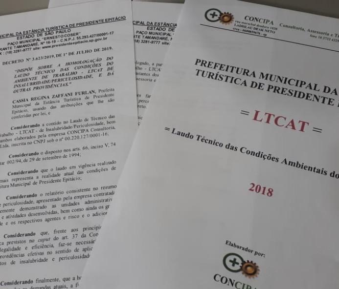 Prefeitura de Epitácio regulariza pagamento de adicional de insalubridade e periculosidade