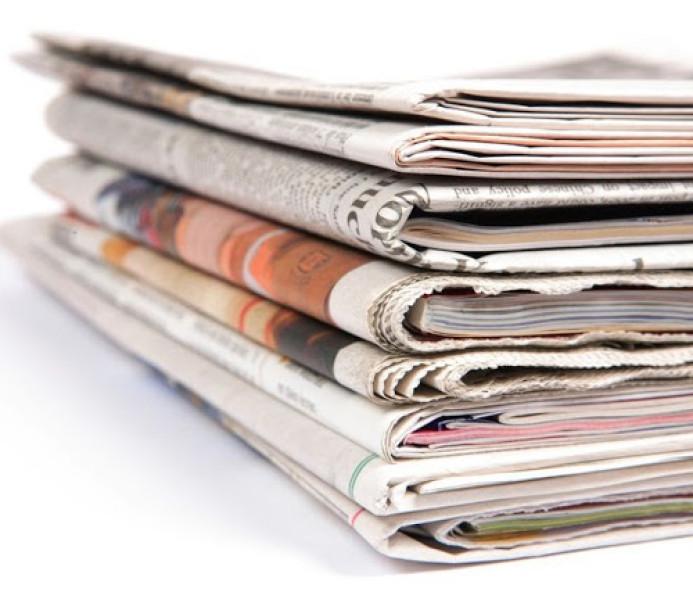 Leia as manchetes desta quarta