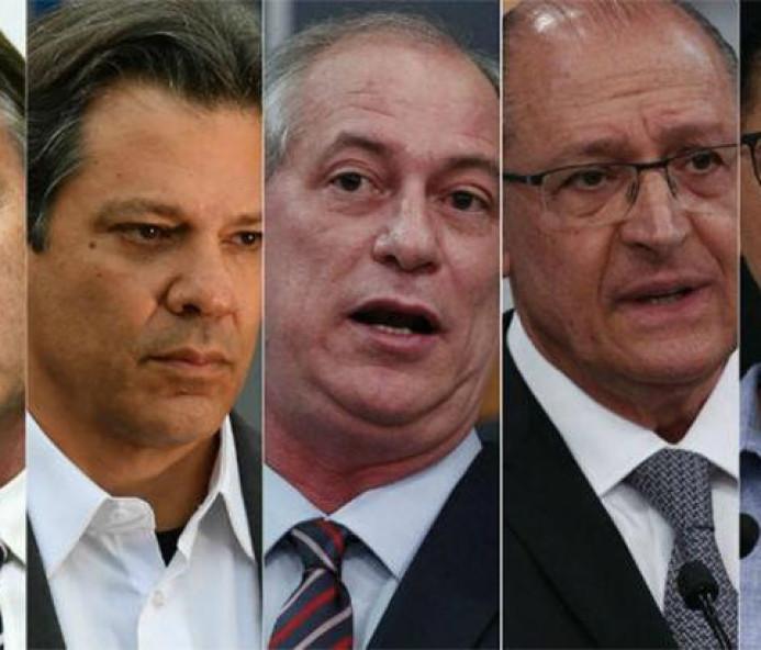 Bolsonaro oscila de 26% para 28% e Haddad cresce de 8% para 19%