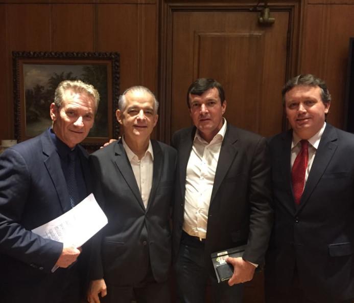 Duran encontra governador do Estado de SP e faz novos pedidos para Venceslau