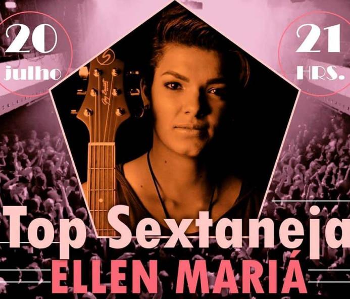 Top Sextaneja com Ellen Mariá no Bar do Burrão