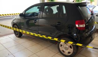 Veículo de aposentado morto em Rancharia é recuperado pela polícia após suspeito bater contra barranco