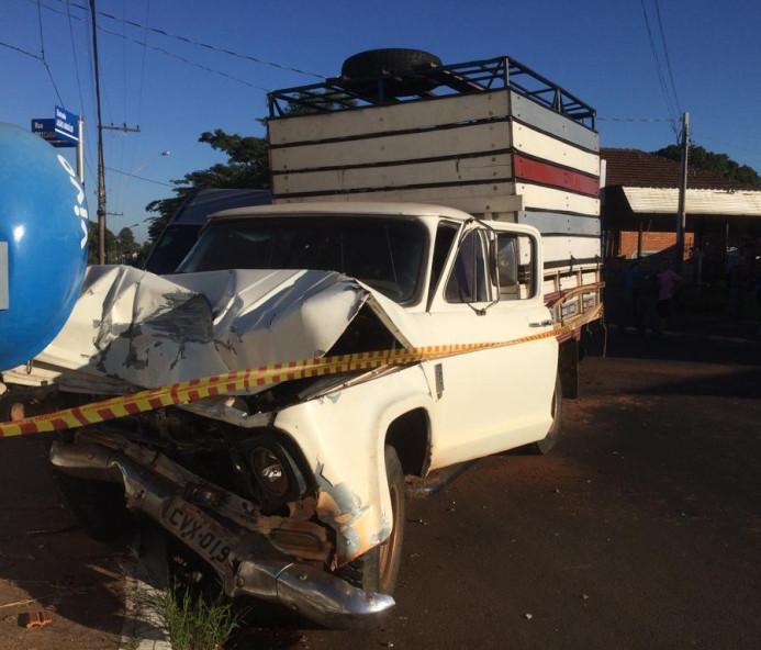 Acidente com três veículos faz oito vítimas leves em Dracena