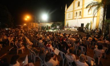 Ato pela Justiça e Paz  emociona centenas de pessoas em Venceslau