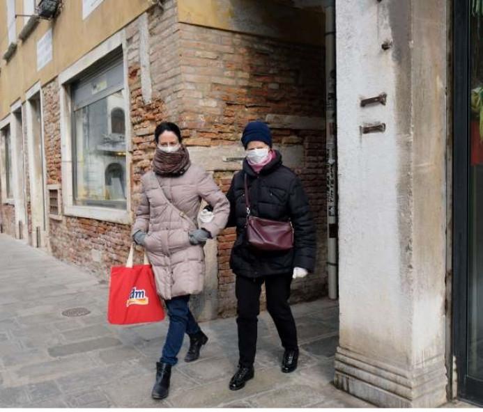 Itália confirma 5ª morte por coronavírus e isola 11 cidades