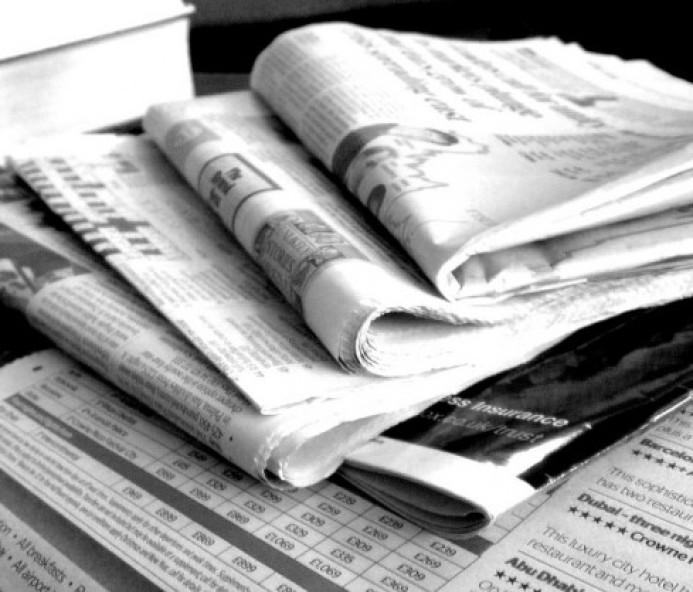 Principais manchetes desta quinta-feira