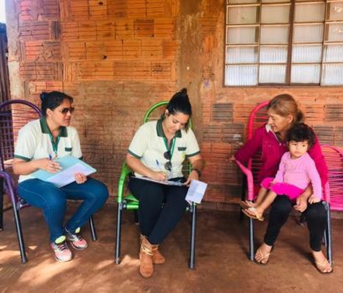 Equipe do Bolsa Família realiza fiscalização cadastral de beneficiários em Bataguassu