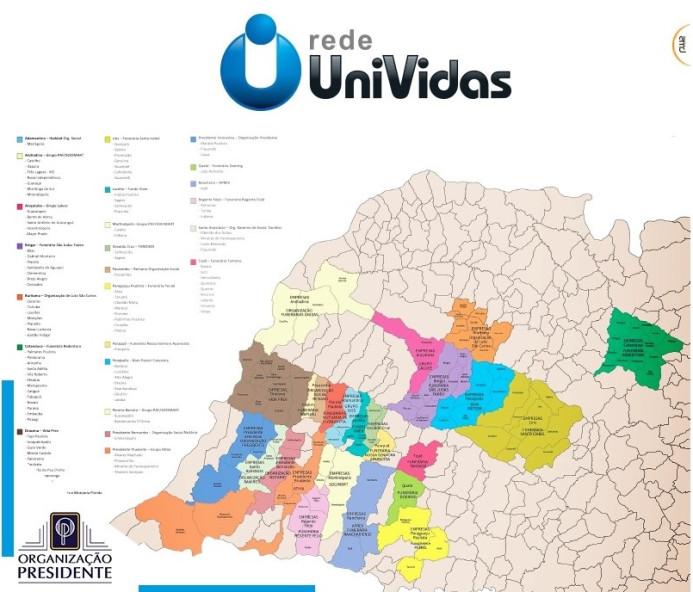 Organização Presidente faz parte de Rede UniVidas